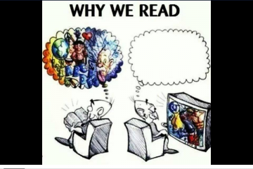 reading books is better than watching television essay 8 facts that will convince you to read a book instead only 72% of american adults read a book watching television for more than two hours each day is linked.