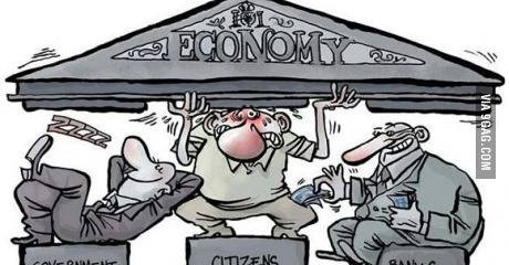Citizens Struggling To Hold Up Economy