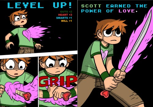Credit for this image goes to Bryan Lee O'Malley, creator of Scott Pilgrim