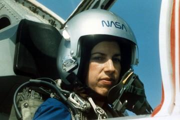 155640 05: NASA astronaut Ellen Ochoa during training at Vance Air Force base in Houston, TX., 1993. (Photo by NASA/Liaison)